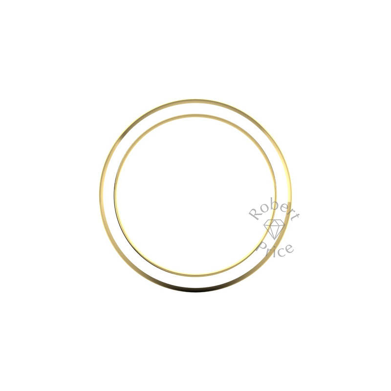 Classic Deluxe Wedding Ring in 9ct Yellow Gold (3mm)