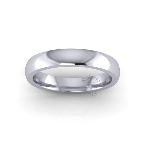 Classic Court Wedding Ring in Extra Heavy Weight (3.5mm)