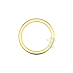 Classic Deluxe Wedding Ring in 18ct Yellow Gold (3.5mm)