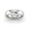 Classic Deluxe Wedding Ring in 18ct White Gold (4mm)