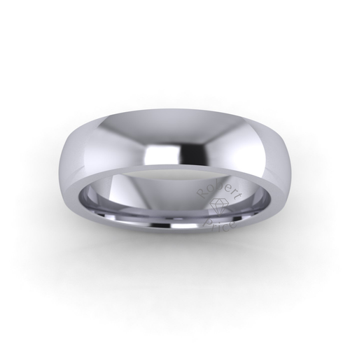 Classic Court Wedding Ring in Extra Heavy Weight (5mm)