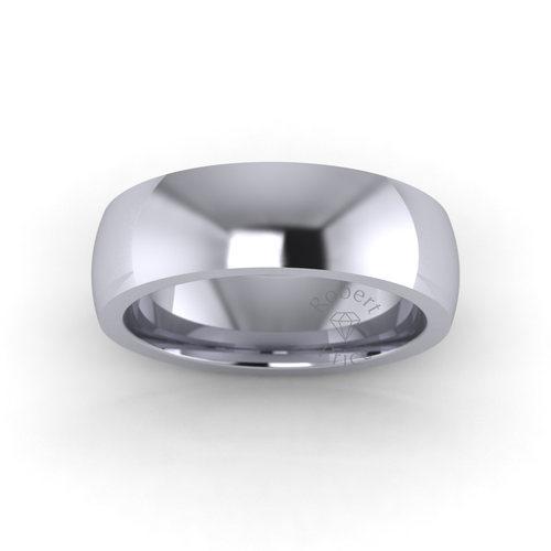 Classic Court Wedding Ring in Extra Heavy Weight (6mm)