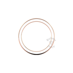 Classic Deluxe Wedding Ring in 9ct Rose Gold (6mm)