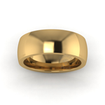 Classic Deluxe Wedding Ring in 18ct Yellow Gold (7mm)