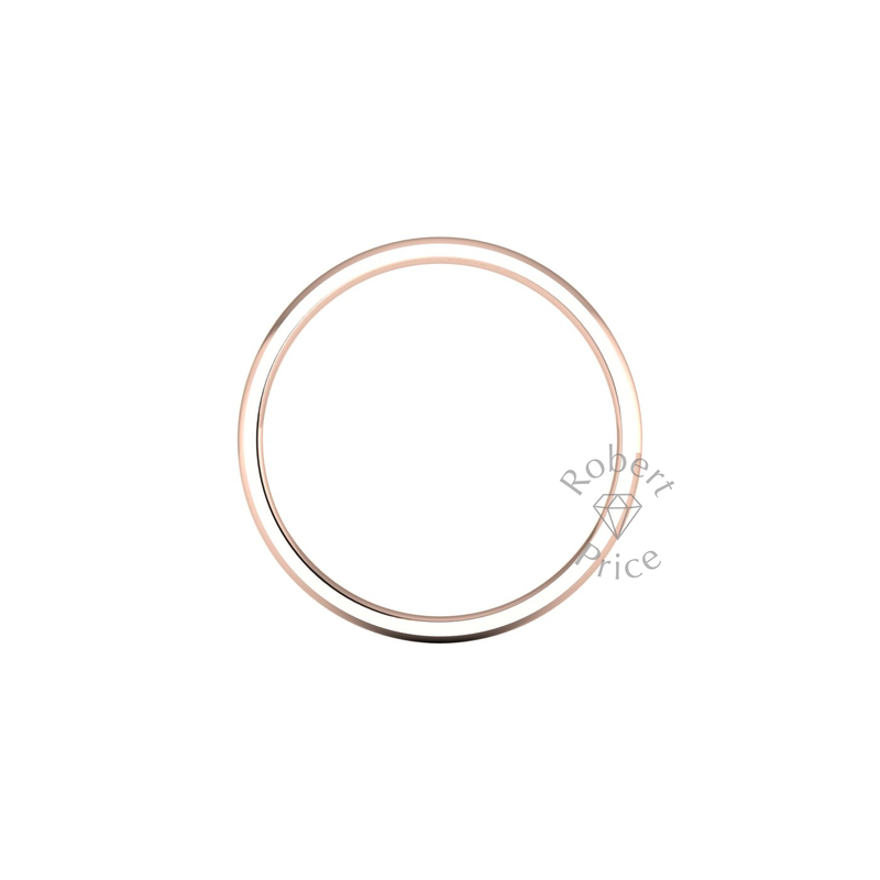 Classic Standard Wedding Ring in 18ct Rose Gold (2mm)