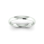 Classic Standard Wedding Ring in 9ct White Gold (2.5mm)