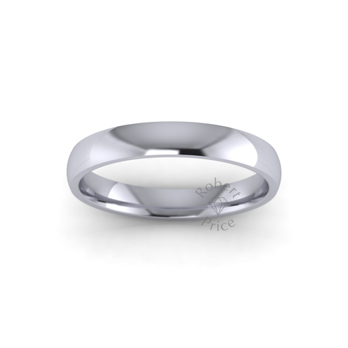 Classic Court Wedding Ring in Standard Weight (3mm)