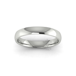 Classic Standard Wedding Ring in 18ct White Gold (3mm)