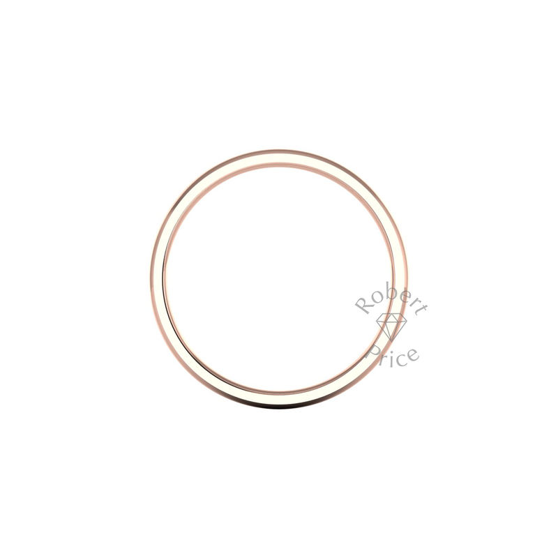 Classic Standard Wedding Ring in 9ct Rose Gold (3mm)