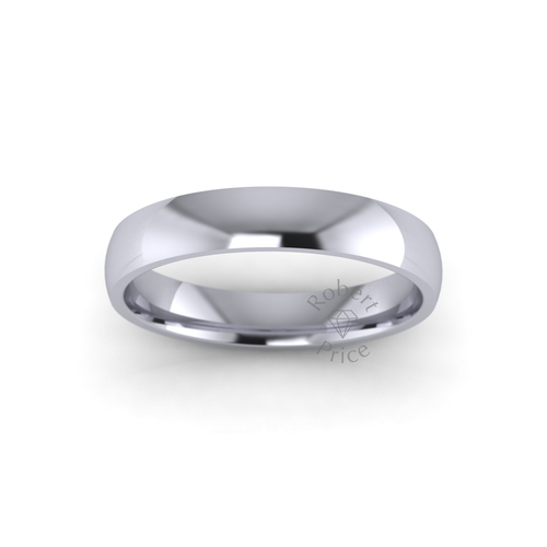 Classic Court Wedding Ring in Standard Weight (3.5mm)