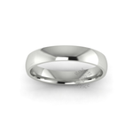 Classic Standard Wedding Ring in 18ct White Gold (3.5mm)