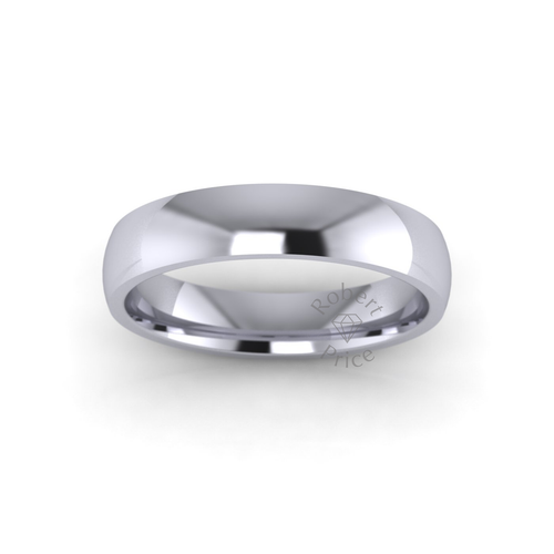 Classic Court Wedding Ring in Standard Weight (4mm)