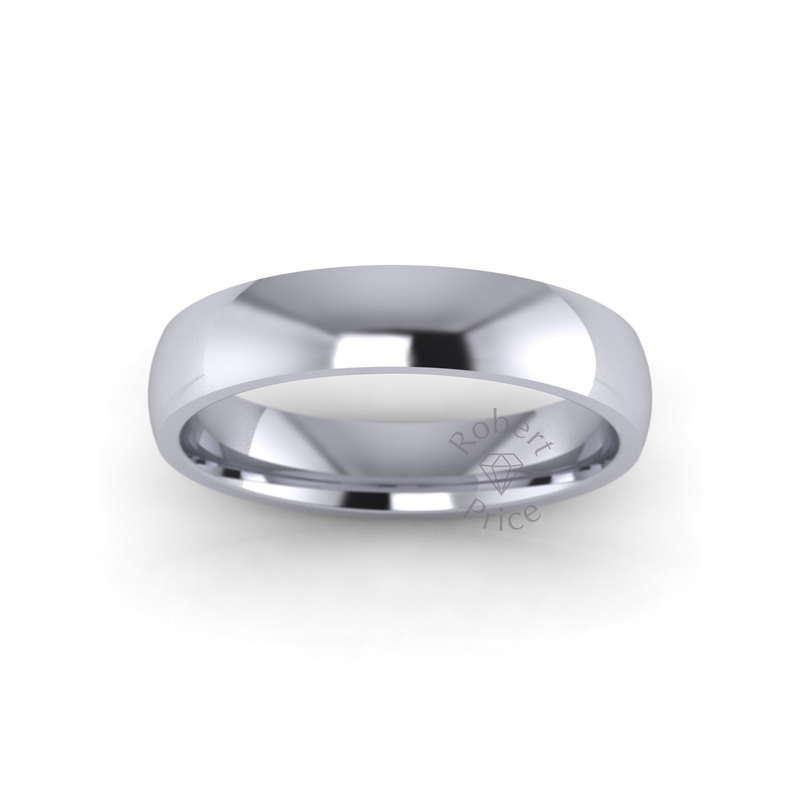 Classic Standard Wedding Ring in Platinum (4mm)