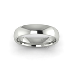 Classic Standard Wedding Ring in 18ct White Gold (4mm)