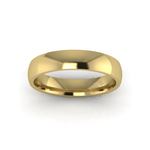 Classic Standard Wedding Ring in 9ct Yellow Gold (4mm)