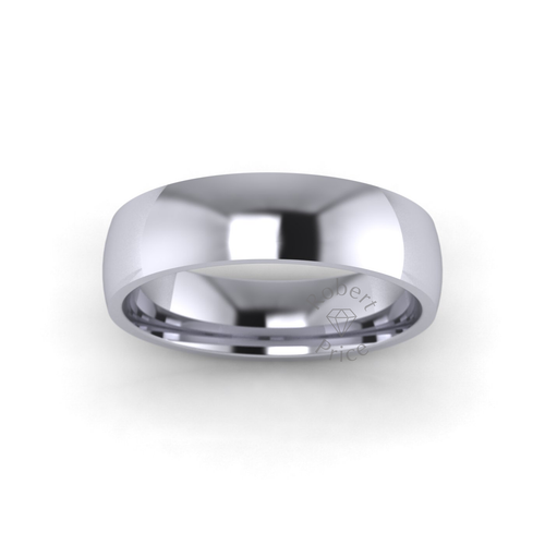 Classic Court Wedding Ring in Standard Weight (5mm)