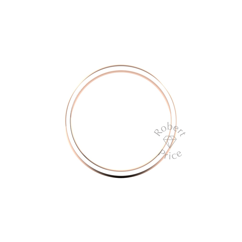 Classic Standard Wedding Ring in 18ct Rose Gold (5mm)