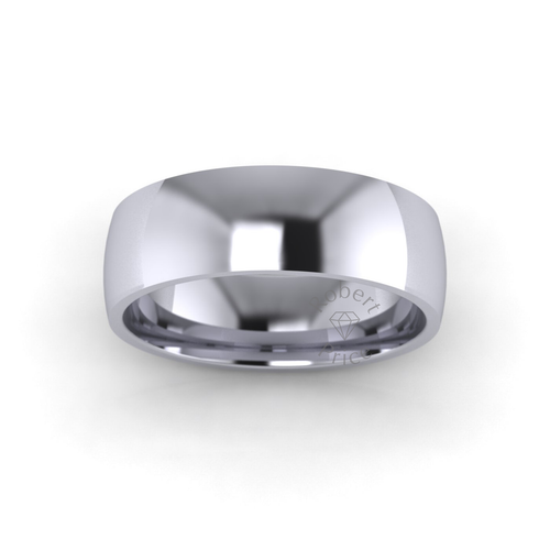 Classic Court Wedding Ring in Standard Weight (6mm)