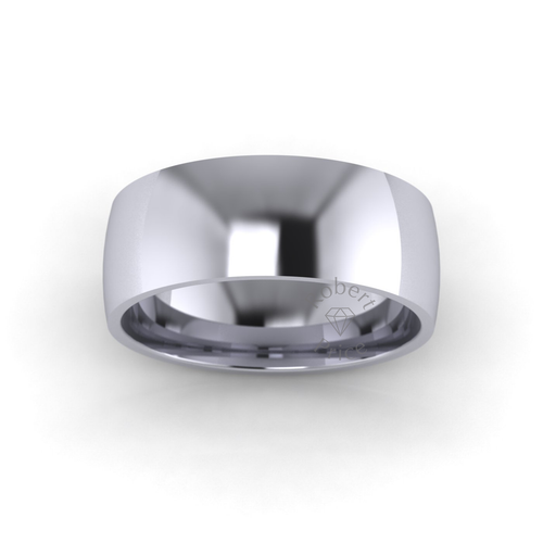 Classic Court Wedding Ring in Standard Weight (7mm)