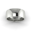 Classic Standard Wedding Ring in 18ct White Gold (8mm)