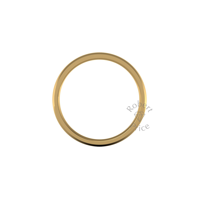 Classic Standard Wedding Ring in 18ct Yellow Gold (8mm)