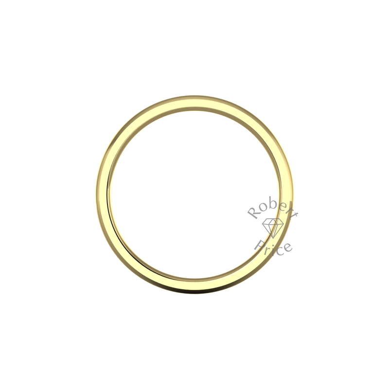 Classic Heavy Wedding Ring in 9ct Yellow Gold (3mm)