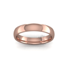 Classic Heavy Wedding Ring in 9ct Rose Gold (3.5mm)