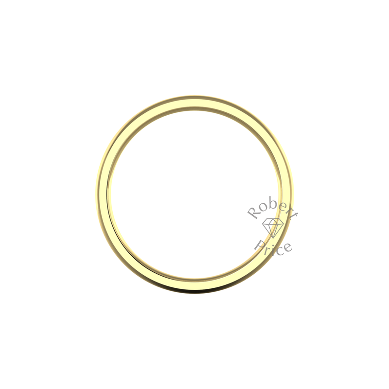 Classic Heavy Wedding Ring in 9ct Yellow Gold (5mm)
