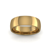 Classic Heavy Wedding Ring in 18ct Yellow Gold (6mm)