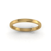 Soft Court Heavy Wedding Ring in 18ct Yellow Gold (2mm)