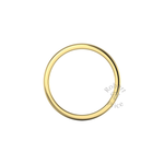 Soft Court Heavy Wedding Ring in 9ct Yellow Gold (2.5mm)
