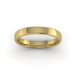 Soft Court Heavy Wedding Ring in 9ct Yellow Gold (3mm)