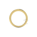 Channel Set Soft Court Diamond Ring in 18ct Yellow Gold (0.26 ct.)