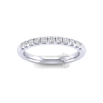 Micropavé Diamond Ring in 18ct White Gold (0.33 ct.)