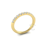 Claw Set Diamond Ring in 18ct Yellow Gold (0.44 ct.)
