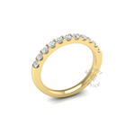Claw Set Diamond Ring in 18ct Yellow Gold (0.55 ct.)