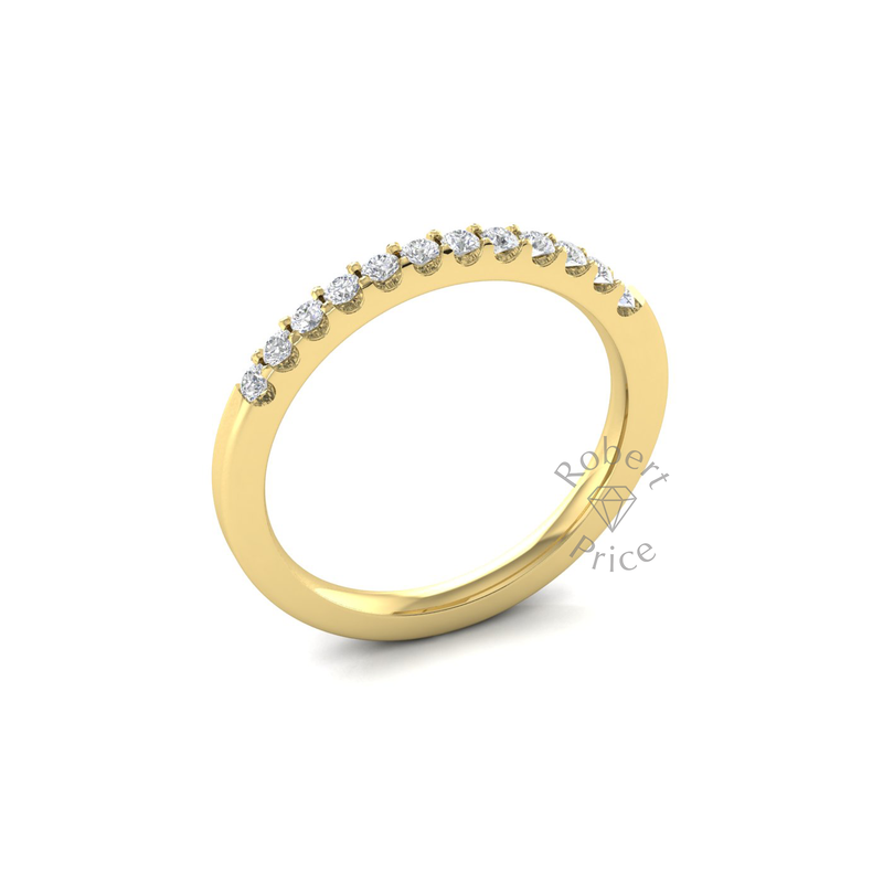 Claw Set Diamond Ring in 18ct Yellow Gold (0.24 ct.)