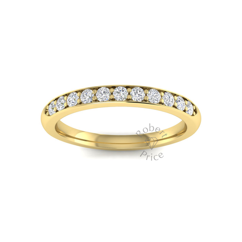 Shared Claw Set Diamond Ring in 18ct Yellow Gold (0.33 ct.)
