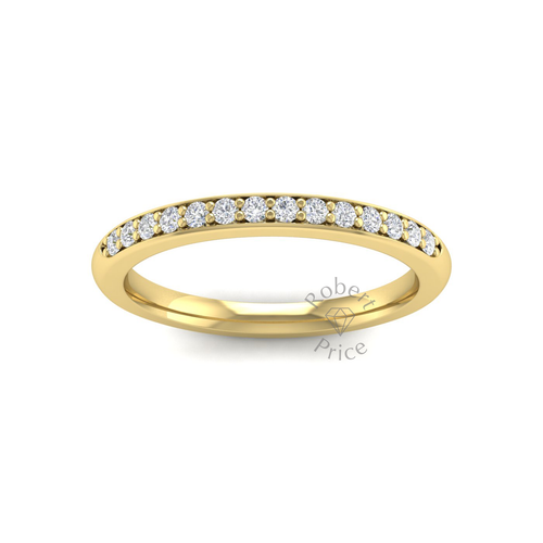 Shared Claw Set Diamond Ring in 18ct Yellow Gold (0.21 ct.)