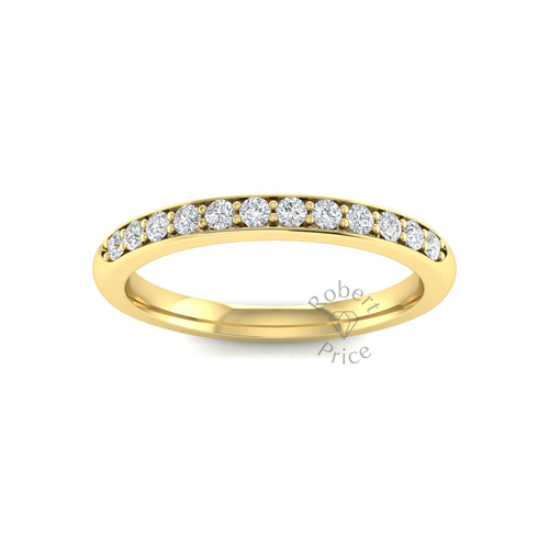 Shared Claw Set Diamond Ring in 18ct Yellow Gold (0.24 ct.)