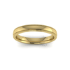Millgrain Wedding Ring in 9ct Yellow Gold (3mm)