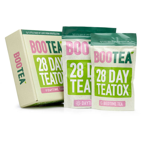 Bootea 28-Day Teatox pouch and box