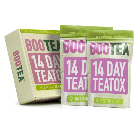 14-Day Teatox pouches and box