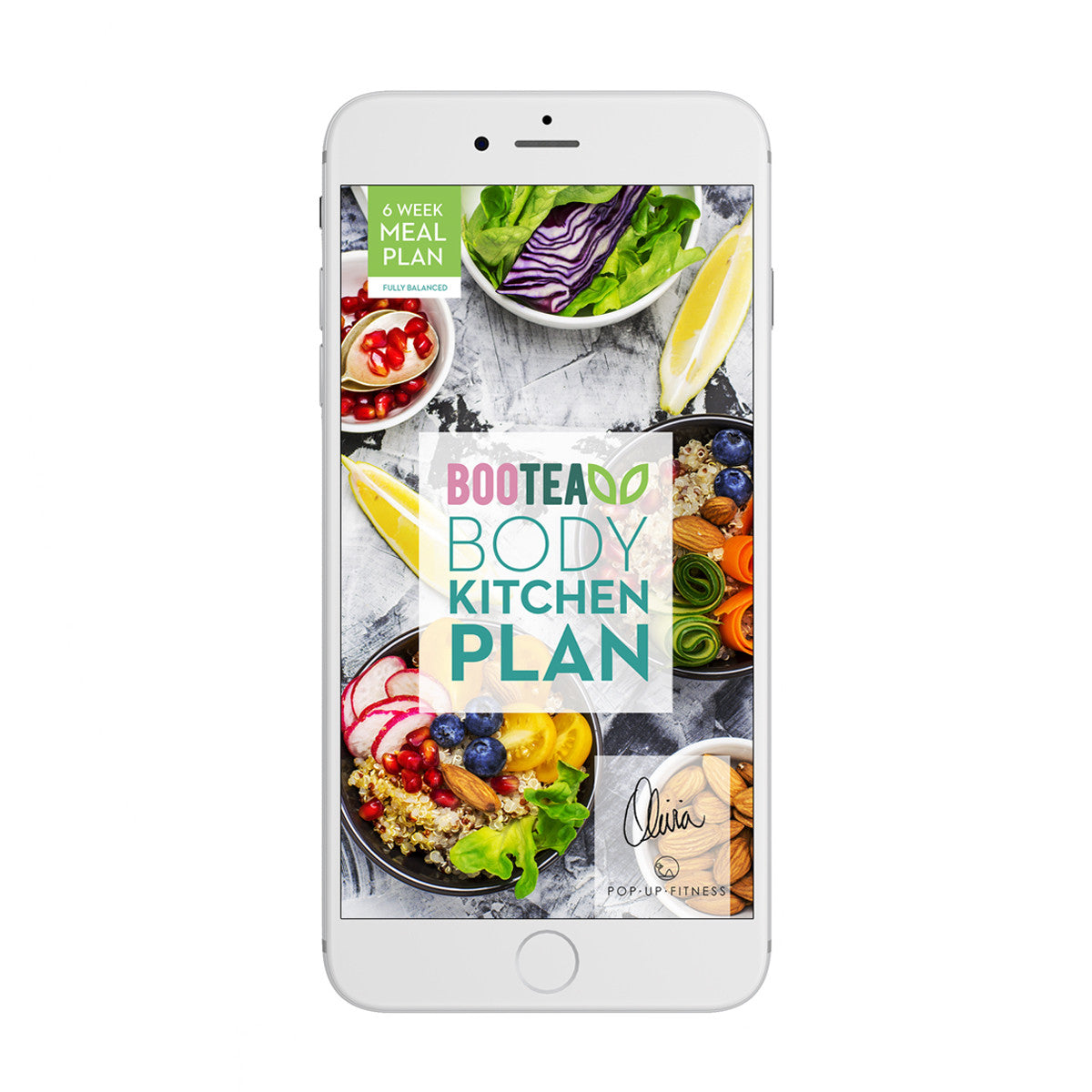 Bootea Body Plan on smartphone