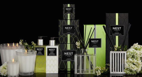 Fig Fine Linens and Home - Nest Fragrances - Candles, Diffusers, Soap and Lotion