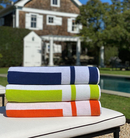 Sferra Beach Towels - Fig Linens and Home