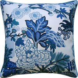 Blue Pillows and Aqua Pillows at Fig Linens and Home
