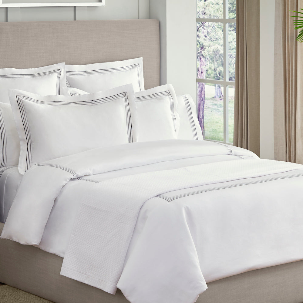 Hotel Oasis Bedding at Fig Linens | Frette Matouk Sferra Hotel