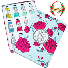 Deluxe 12 Hand Cream Tin by La Chatelaine - Fig Linens and Home - Mother's Day Gifts - Gifts for Her