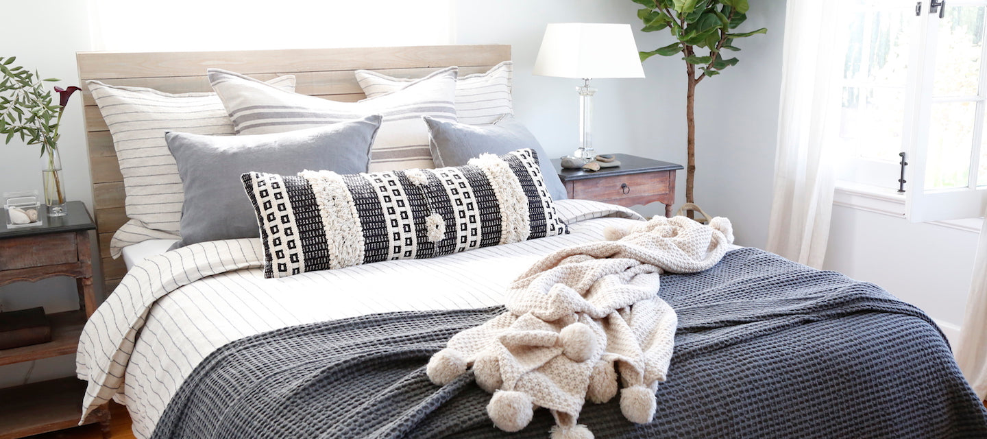 POM POM at home - shop relaxed luxury bedding at fig linens and home
